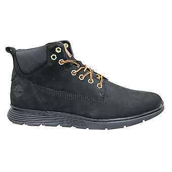 تيمبرلاند كيلينغتون تشوككا الجلود السوداء الدانتيل حتى الصحراء الكاحل أحذية الرجال A19UK