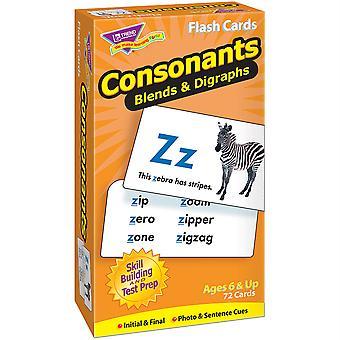 Tarjetas Flash de Taladro de Habilidades de Consonantes