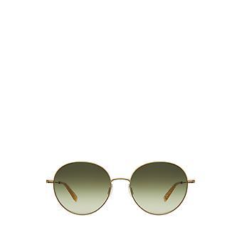 Garrett Leight VALENCIA SUN matte gold-blonde female sunglasses