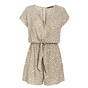 Short Playsuits  Leopard Print