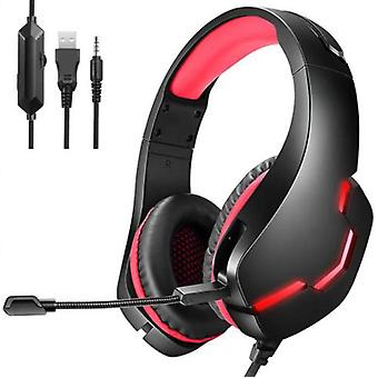 Wired Headset Gaming Headset, Detachable Microphone, Suitable For Ps5, Ps4, Pc, Xbox, Nintendo Switch, Mobile Devices