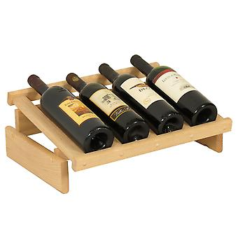 Display in legno Mallet 4 Bottle Dakota Wine, incompiuto