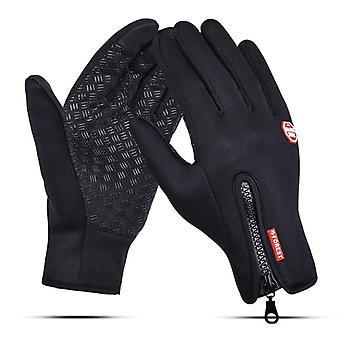 Windproof οθόνη αφής άνδρες-γυναίκες θερμικά αθλητικά γάντια