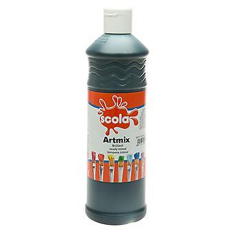 Scola AM600/38 Artmix Ready-mix Paint 600ml - Black