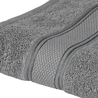Asciugamano Viso Colore Grigio in Cotone, L60xP100 cm