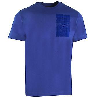 Emporio Armani Toistuva Logo Sininen T-paita
