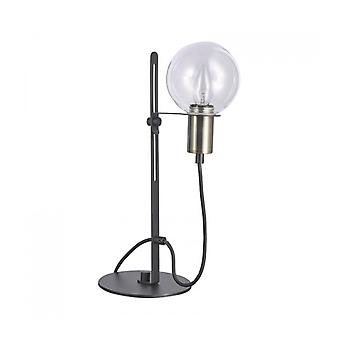 Lámpara de Escritorio Moderno Gianni Bronce Antiguo, Negro