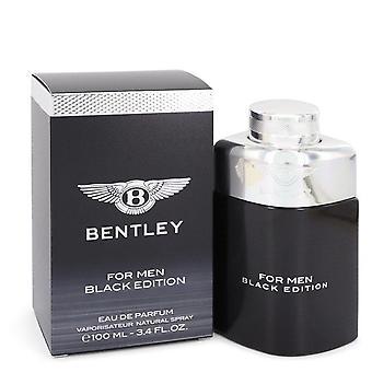 Bentley Black Edition Eau De Parfum Spray By Bentley 3.4 oz Eau De Parfum Spray