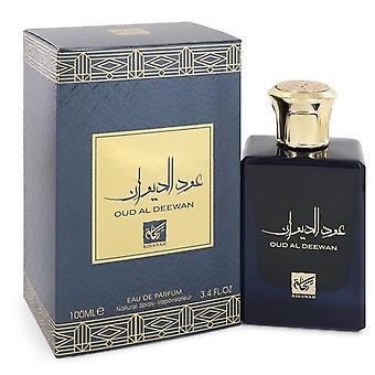 Oud Al Deewan Eau De Parfum Spray (Unisex) By Rihanah 3.4 oz Eau De Parfum Spray