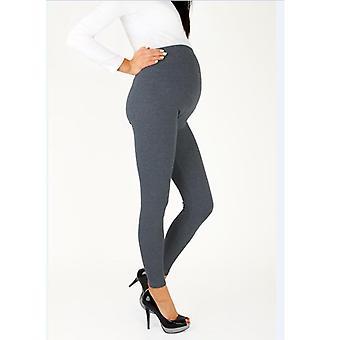 Mujeres embarazadas pantalones de leggings de maternidad de larga duración, lactancia desgaste embarazo