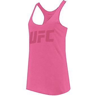 UFC Women's Tonal Logo Tank Top - Pink