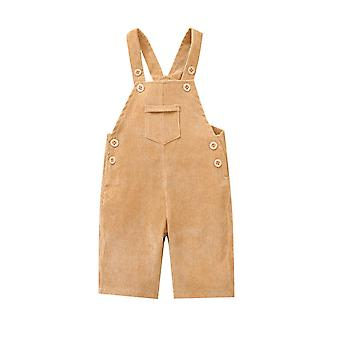 Baby Summer Clothing, Toddler Kids Overalls, Cute Bib Pants With Front Pocket