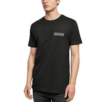 Mister Tee Graphic Shirt - PATH TO PARADISE black