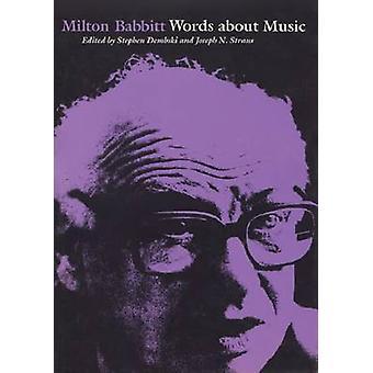 MILTON BABBITT - 9780299107949 Book