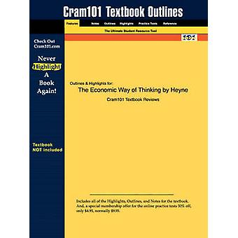 Studyguide for The Economic Way of Thinking by Prychitko - ISBN 97801
