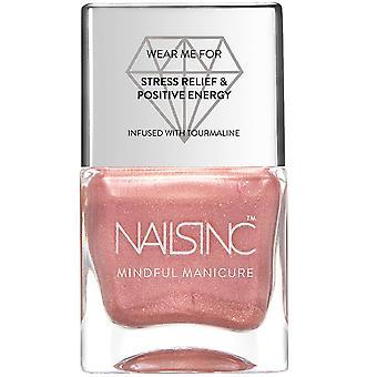 Nails inc Mindful Manicure Nail Polish - And Breathe (9253) 14ml