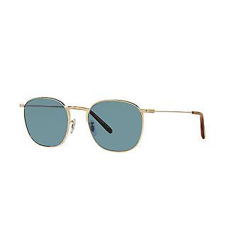 Oliver Peoples Goldsen Sun OV1285ST 529256 Gold/Cobalto Sunglasses