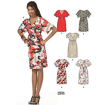 New Look Sewing Pattern 6936 Misses Dresses Size A (8-10-12-14-16-18)