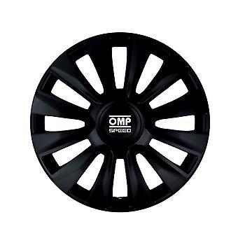 "Hubcap OMP Magnum Speed Black 14"" (4 uds)"
