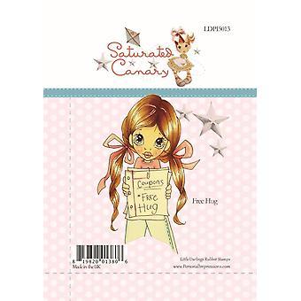 Little Darlings Free Hugs - Clear Stamps