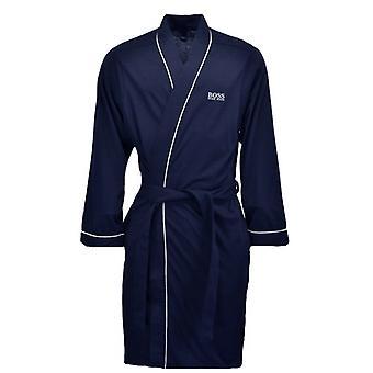 BOSS Bodywear Hugo Boss Black Kimono Dressing Gown Dark Blue