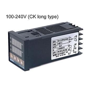 PID Digital Temperature Controller REX-C100FK02-M*AN 0 To 400°C K Type Relay Output (100-240V CK long)