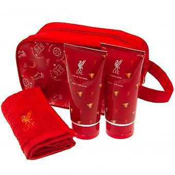 Conjunto de presentes de lavagem júnior de Liverpool