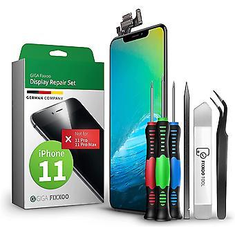 FengChun Display-Set für iPhone 11   Reparatur-Set komplett mit Werkzeug-Kit, Ersatz Bildschirm,