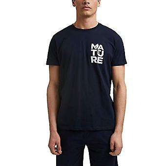edc by Esprit 031CC2K301 T-Shirt, 400/Navy, XL Men's