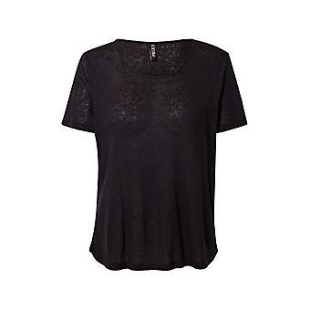 PIECES PCPHOEBE SS Tee Noos T-Shirt, Black, XL Woman