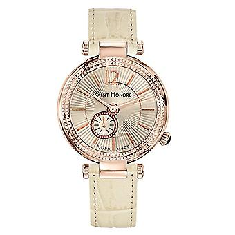 Saint Honore Analog Quartz Watch for Women with Leather Strap 7620218BGFIR