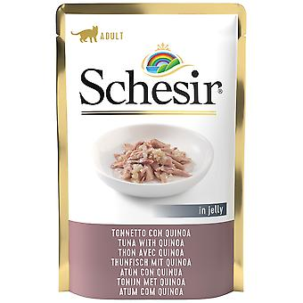 Schesir Tuna with Quinoa Envelopes for Cats (Cats , Cat Food , Wet Food)