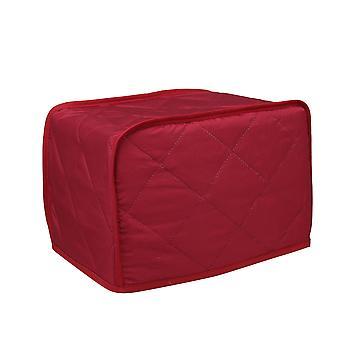 2 Slice Brödrostskydd för brödmaskin&spis 29,2x20,3x20,3 cm röd
