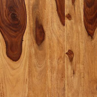 vidaXL Esstisch Massivholz und Stahl 180 cm