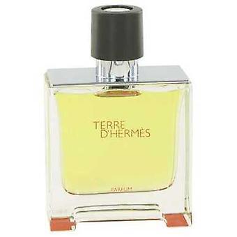 Terre D'hermes By Hermes Pure Perfume Spray (tester) 2.5 Oz (men)