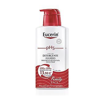 Bipacco pH5 Sensitive Skin Cleansing 2 units of 400ml