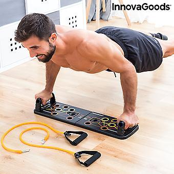 Sistema de entrenamiento con bandas de resistencia y guía de ejercicio Pulsher InnovaGoods