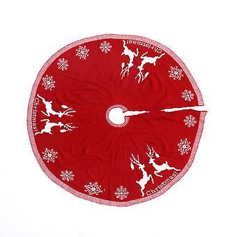 Roter Basisrock für Weihnachtsbaum Dekor