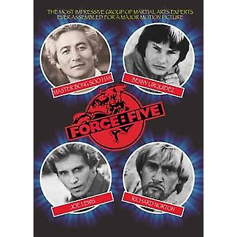 Fuerza Cinco Película Dvd Joe Lewis, Pam Huntington, Bong Soo Han -Vd7602A