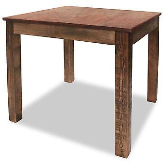vidaXL Ruokapöytä Kierrätetty massiivipuu 82 x 80 x 76 cm