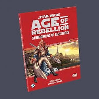 Star Wars Age of Rebellion Strongholds of Resistance Board Game