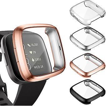 Hülle Kompatibel mit Fitbit Versa 2 Schutzhülle Schutz (Nicht für Versa/Versa Lite/SE), [4 Stücke]