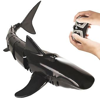 RC Simulation Shark Toys 2.4G 4CH Waterproof Electric Remote Control Shark