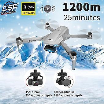 KF102 drone 8K HD κάμερα GPS επαγγελματική μετάδοση εικόνας πτυσσόμενο quadcopter| Ελικόπτερα RC