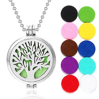 New Aroma Aromatherapy Diffuser Necklace Open Lockets Pendant Perfume Essential
