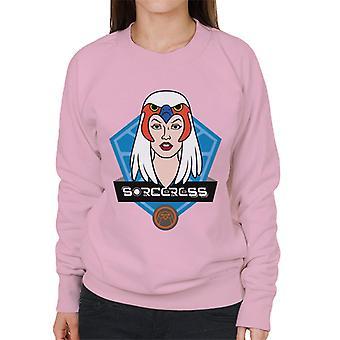 Mästare i universum trollkvinna karaktär huvud kvinnors sweatshirt