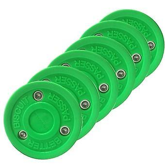 Vihreä keksi rulla jääkiekko harjoittelu kiekko