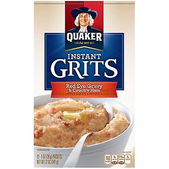 Quaker Red Eye Gravy & Country Ham Instant Grits