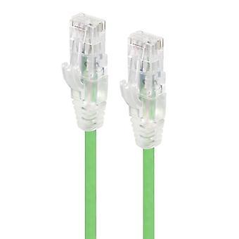 Alogic 5M الأخضر الترا سليم Cat6 شبكة كابل Utp 28Awg سلسلة ألفا