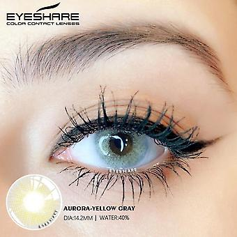 Eyeshare 2pcs/pair Aurora Series Color Contact Lens Eye Colo